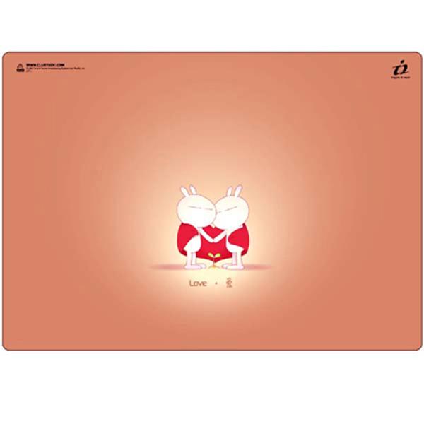 i2 兔斯基竹炭滑鼠墊-為了愛