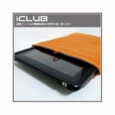 iPad mini通用型平板電腦絨布保護套(橘色)