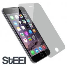 STEEL iPhone 6 Plus超薄晶透防刮亮面鍍膜防護貼