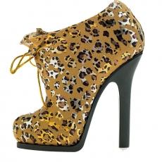 GALATEA葛拉蒂高跟鞋刷具收納筒(豹紋金)