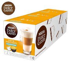 雀巢NESCAFE 無糖拿鐵咖啡膠囊 (Latte Macchiato Unsweetened) 3盒/條入
