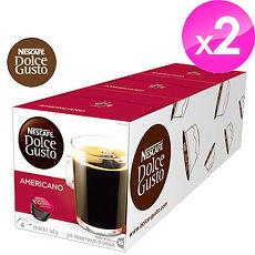 雀巢NESCAFE 美式經典咖啡膠囊 (Americano)【3盒X2條組】