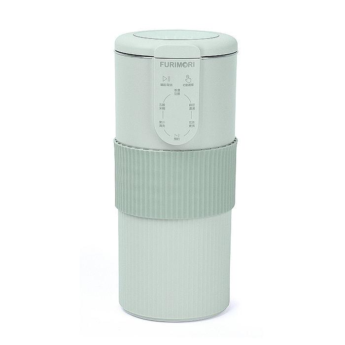 日本《富力森FURIMORI》迷你調理豆漿機/果汁機 FU-B302  (特賣)