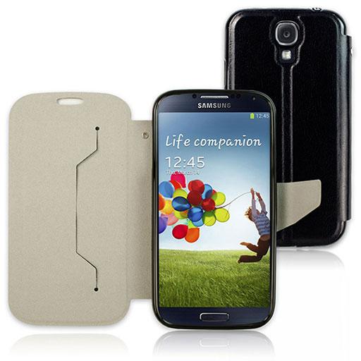Samsung Galaxy S4 專用 P07 皮革手機套-黑色