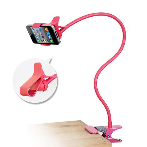 IP-MA7 懶人專用 多彩智慧型手機萬用支架 - 紅色