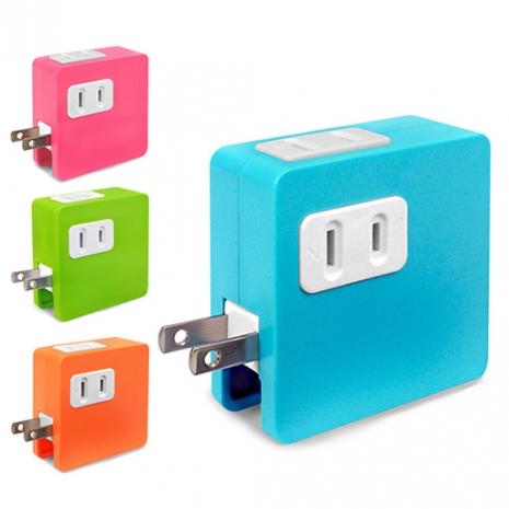 (加購)炫彩 SD-22U 2孔插座x2+雙USB埠 15A分接式插座