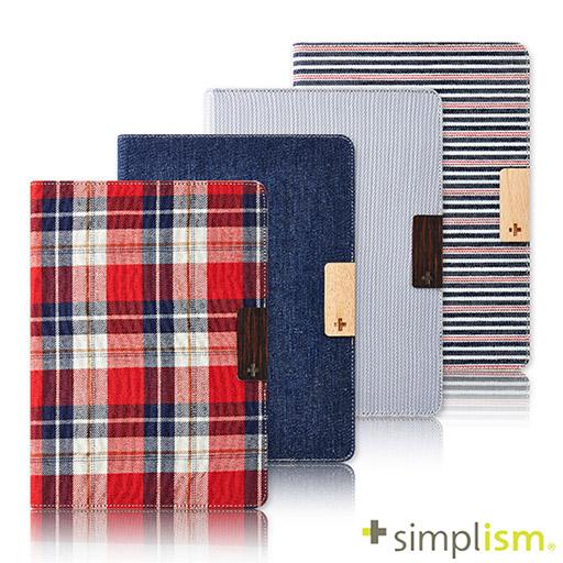Simplism iPad Air 專用 側開布面側開掀蓋保護套