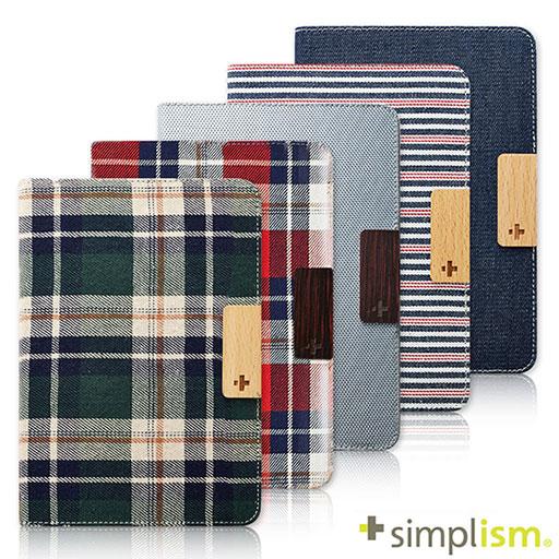 Simplism iPad mini Retina 布面側開掀蓋保護套