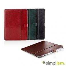 Simplism iPad Air2 皮革收納袋綠色