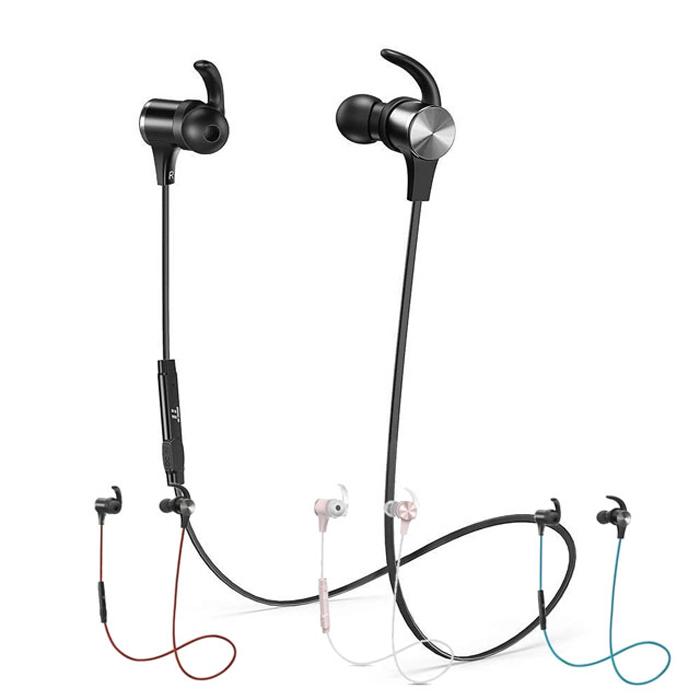 Taotronics TT-BH07 磁吸式藍牙耳機紅色款