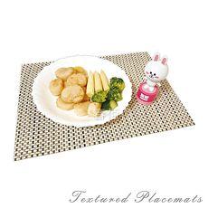 派樂 時尚編織餐墊 (5入) 防滑墊 盤墊  餐具墊-特賣