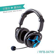 【ALTEAM我聽】 RFD-847W USB 2.4G 耳罩式耳麥