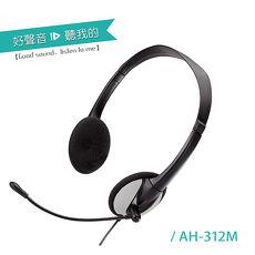 【ALTEAM我聽】 AH-312MV 貼耳式耳麥