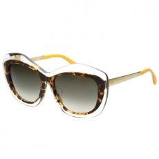 FENDI 廣告款 太陽眼鏡(透明琥+珀色)