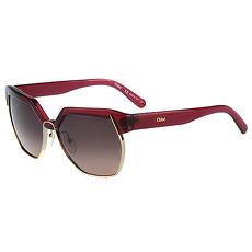 CHLOE太陽眼鏡 廣告款(紅色)CE665SA-603