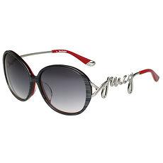 Juicy Couture 造型圓面 太陽眼鏡(大理石灰黑)