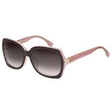 FENDI 東方版-時尚太陽眼鏡 (深咖啡色)
