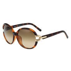 CHLOE 經典氣質太陽眼鏡 (琥珀色)