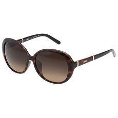 CHLOE 典雅風 太陽眼鏡 (琥珀色)