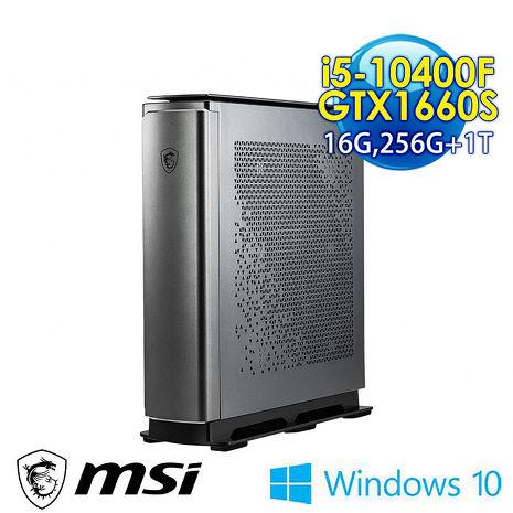 msi微星 Creator P100A 10SI-257TW-B51040F166S616G1T025X10MAB6 桌上型電腦(i5-10400F/16G/256G+1T