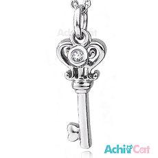 鋼項鍊 AchiCat 鑰匙項鍊 珠寶白鋼 愛情之鑰 C1536