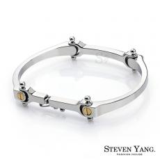 STEVEN YANG【KH3012】西德鋼飾「獨特魅力」鋼手環 *單個價格*