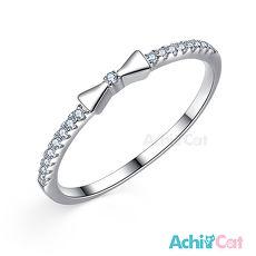 925純銀戒指 AchiCat 純銀飾 甜美氛圍 尾戒 AS6031