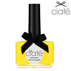 【英國Ciate夏緹Paint Pots指甲油】Big Yellow Taxi 黃色計程車 074 (app)