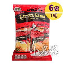 Little Farm小農莊麵包餅乾.蒜香口味隨手包_(1組/6袋)