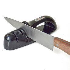 【促銷】日本製造Shimomura三用陶瓷磨刀器(黑色)