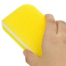 日本製造aisen極細刷毛特效除污菜瓜布4包裝