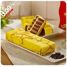 預購-艾葛蛋捲狂人 金磚蛋糕二片裝(巧克力脆片x1片+ 水果優格x1片)