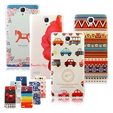 【VXTRA】MIUI 小米 紅米NOTE 藝術彩繪手機殼 保護殼 背蓋夢想女孩