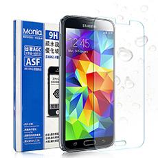 MONIA SAMSUNG Galaxy S5 / i9600 / G900i 日本頂級疏水疏油9H鋼化玻璃膜 玻璃貼 保護貼