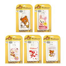 【日本授權正版】懶懶熊/拉拉熊/Rilakkuma HTC One M8 最新款 透明保護殼(活動)