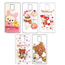 【日本授權正版】懶懶熊/拉拉熊/Rilakkuma Samsung Galaxy Note 4 / N910 最新款 透明保護殼