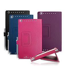 ASUS MeMO Pad 8 / ME581CL 經典商務書本式 磁扣支架保護套
