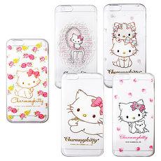 三麗鷗授權正版 Charmmy Kitty 波斯貓恰咪 iPhone 6s/6 4.7吋 i6 透明軟式保護套 手機殼