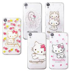 三麗鷗授權正版 Charmmy Kitty 波斯貓恰咪 HTC Desire 820 D820u 透明軟式保護套 手機殼甜蜜友誼