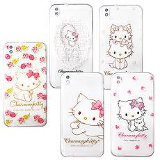 三麗鷗授權正版 Charmmy Kitty 波斯貓恰咪 HTC Desire 816 d816x 透明軟式保護套 手機殼恰咪雙子