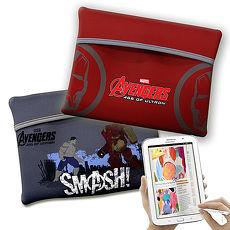 漫威MARVEL 授權正版 復仇者聯盟 平板電腦輕量防震包 太空保護袋(戰鬥款)