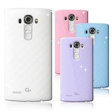 【VXTRA】LG G4 H815 超完美 清透0.5mm隱形保護套蜜糖透粉