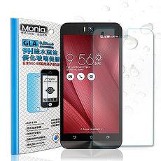 【MONIA 】ASUS Zenfone Selfie (ZD551KL) 日本頂級疏水疏油9H鋼化玻璃膜 玻璃貼 保護貼