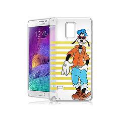 迪士尼授權正版 Samsung Galaxy Note 4 街頭系列透明軟式手機殼(帥氣高飛)
