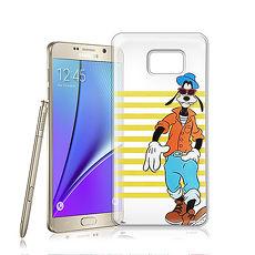 迪士尼授權正版 Samsung Galaxy Note 5 街頭系列透明軟式手機殼(帥氣高飛)