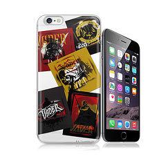 電影授權正版 STAR WARS星際大戰 黑武士 iPhone 6/6s Plus 5.5吋 彩繪軟式手機殼(亂花普普)