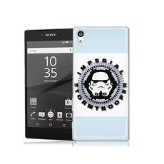 電影授權正版 STAR WARS星際大戰Sony Xperia Z5 彩繪軟式手機殼(白兵頭)