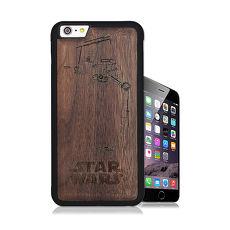 電影授權正版 STAR WARS星際大戰 iPhone 6/6s 4.7吋核桃木雷雕手機殼(帝國機器人)