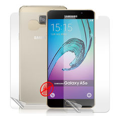 【VXTRA】三星 Samsung Galaxy A5 (2016) 5.2吋 防眩光霧面耐磨保護貼(正反雙膜) 保護膜