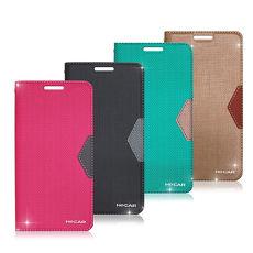 HOCAR 三星 Samsung Galaxy S7 edge 無印風側翻磁力皮套 保護套